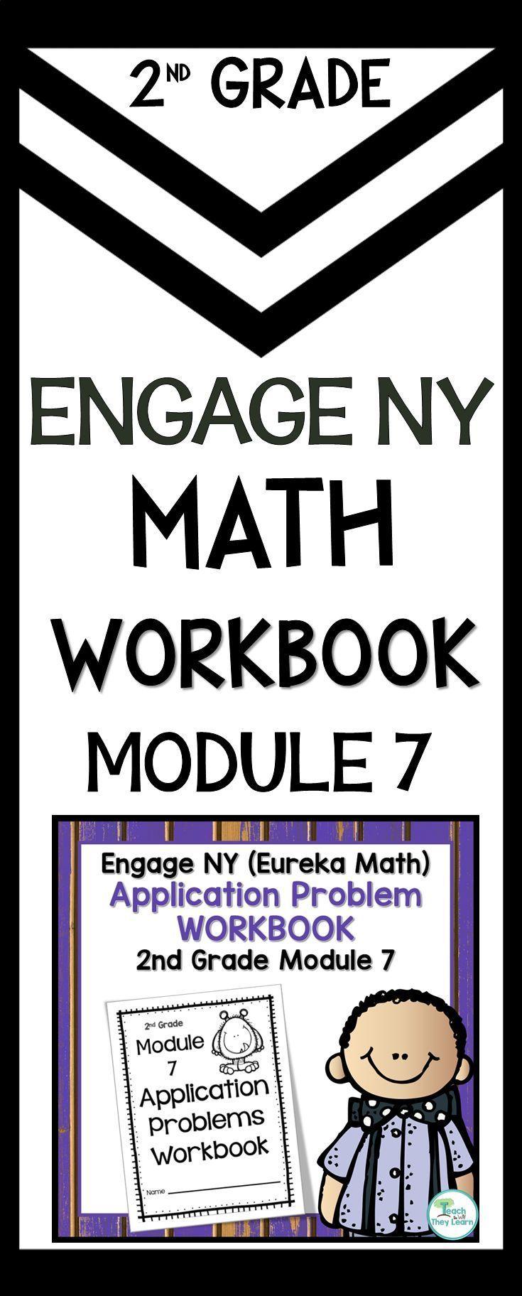 Engage NY (Eureka Math) Application Problem Workbook 2nd Grade ...