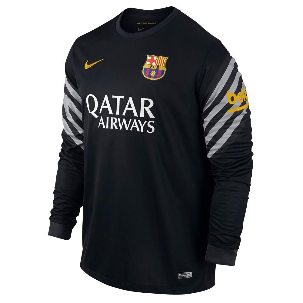 Nike mexico jersey 2017 one pen one page - Nike Barcelona Goalkeeper Stadium Jersey 15 16