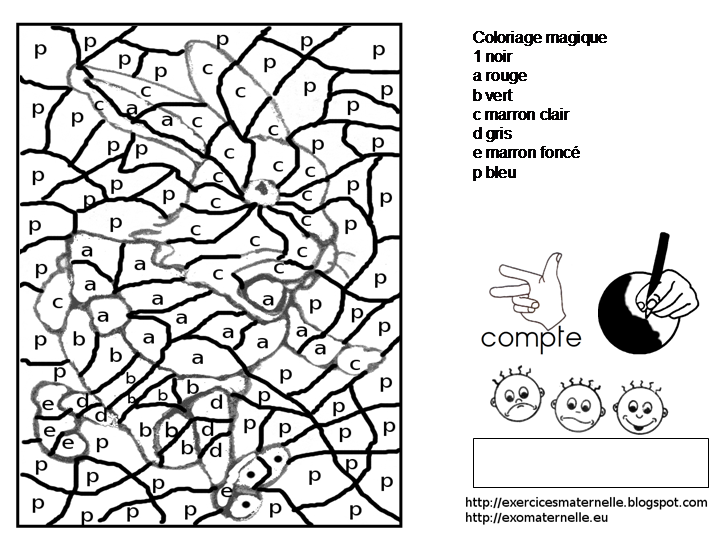 Maternelle coloriage magique coloriage magique pinterest album - Dessin code maternelle ...
