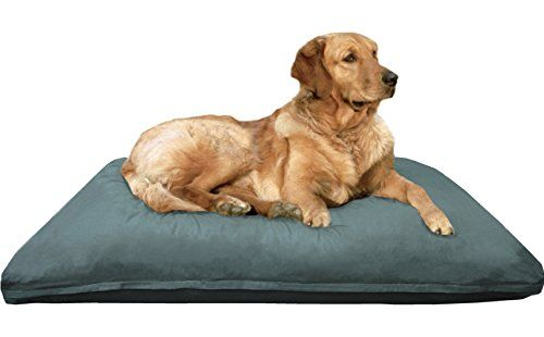 Dogbed4less Extra Large Jumbo Overstuffed Memory Mix Foam Pet Dog Bed Pillow With Super Duty Washable Canvas Cov Waterproof Dog Bed Dog Pet Beds Dog Pillow Bed