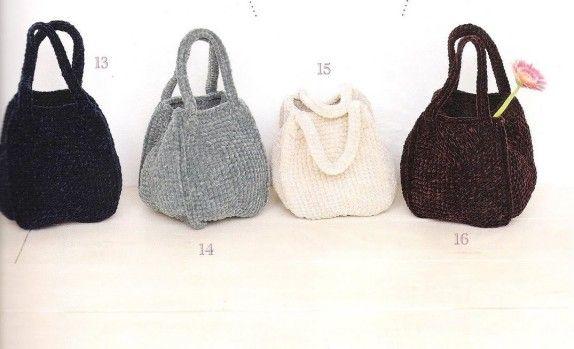 sacs multicolores.