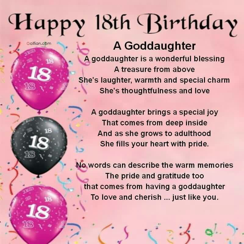 Pin by Irene Hernandez on Happy wishes Pinterest – 18th Birthday Card Verses