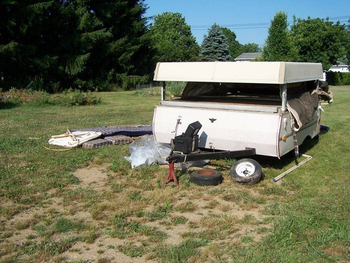 1988 Coleman Columbia Coleman Pop Up Campers Pop Up Camper Coleman