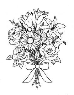 Adult Coloring Pages On Pinterest Coloring Pages Flower