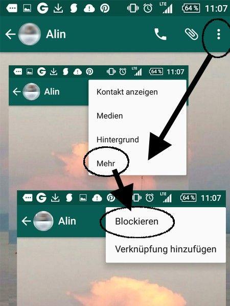 Du möchtest einen Kontakt bei WhatsApp löschen oder