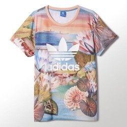 Camiseta Adidas Curso Logo Tee mujer | Camisetas, Adidas