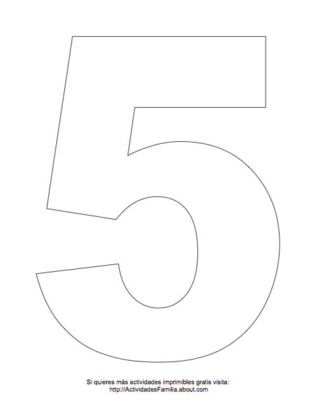 Dibujos de números para colorear | number | Pinterest | Números ...