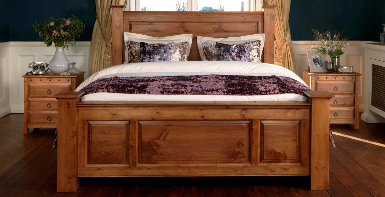 The Ambassador - Handmade Beds and King Size Wooden Beds from ...