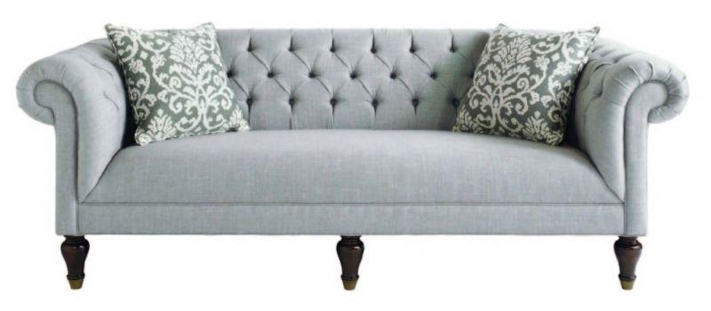 Superieur Tufted Rolled Arm Sofa Tufted Rolled Arm Sofa 2017 Sofa Design