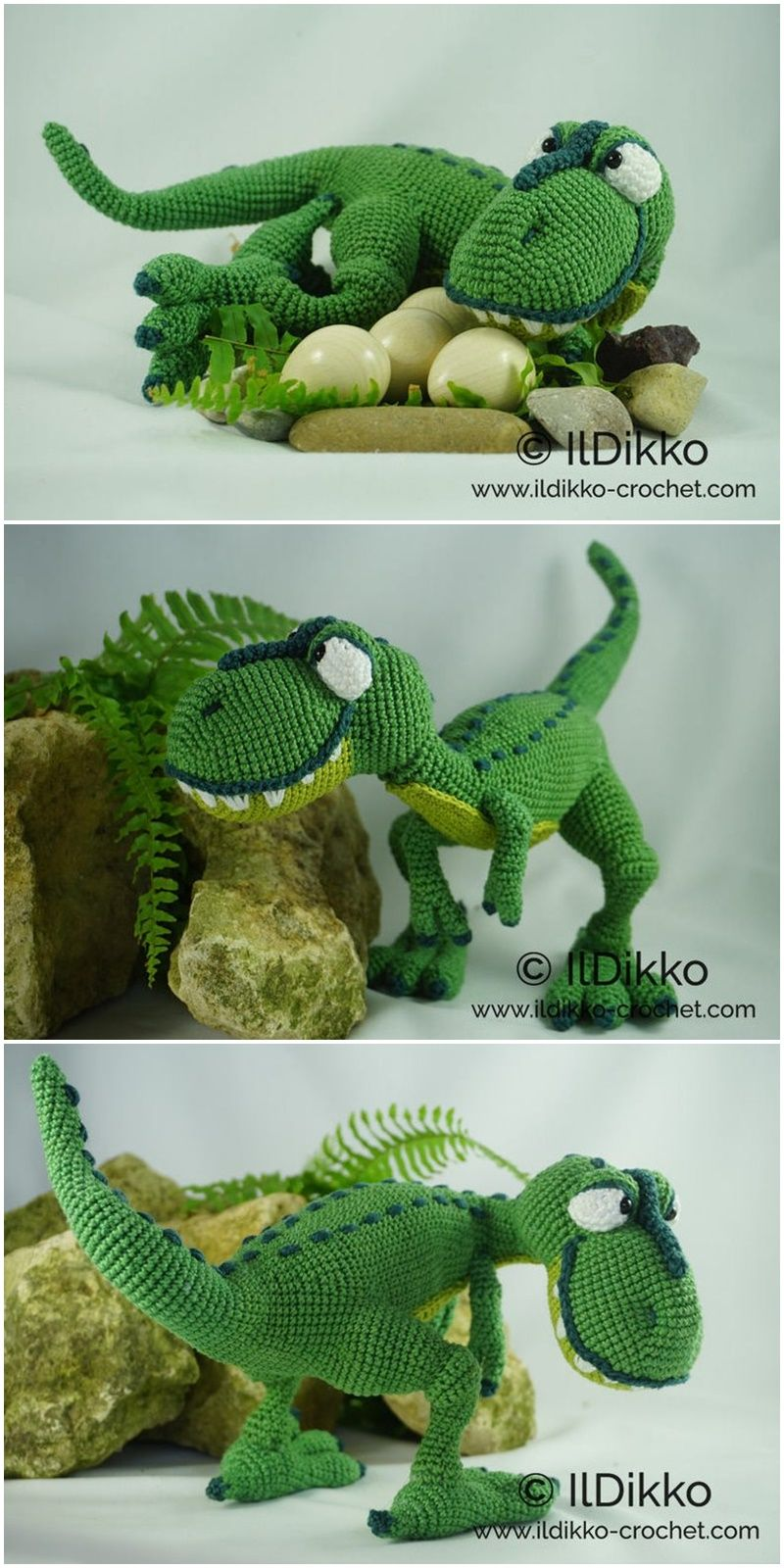 Free Amigurumi Doll And Animal Crochet Patterns - Amigurumi #crochetdinosaurpatterns