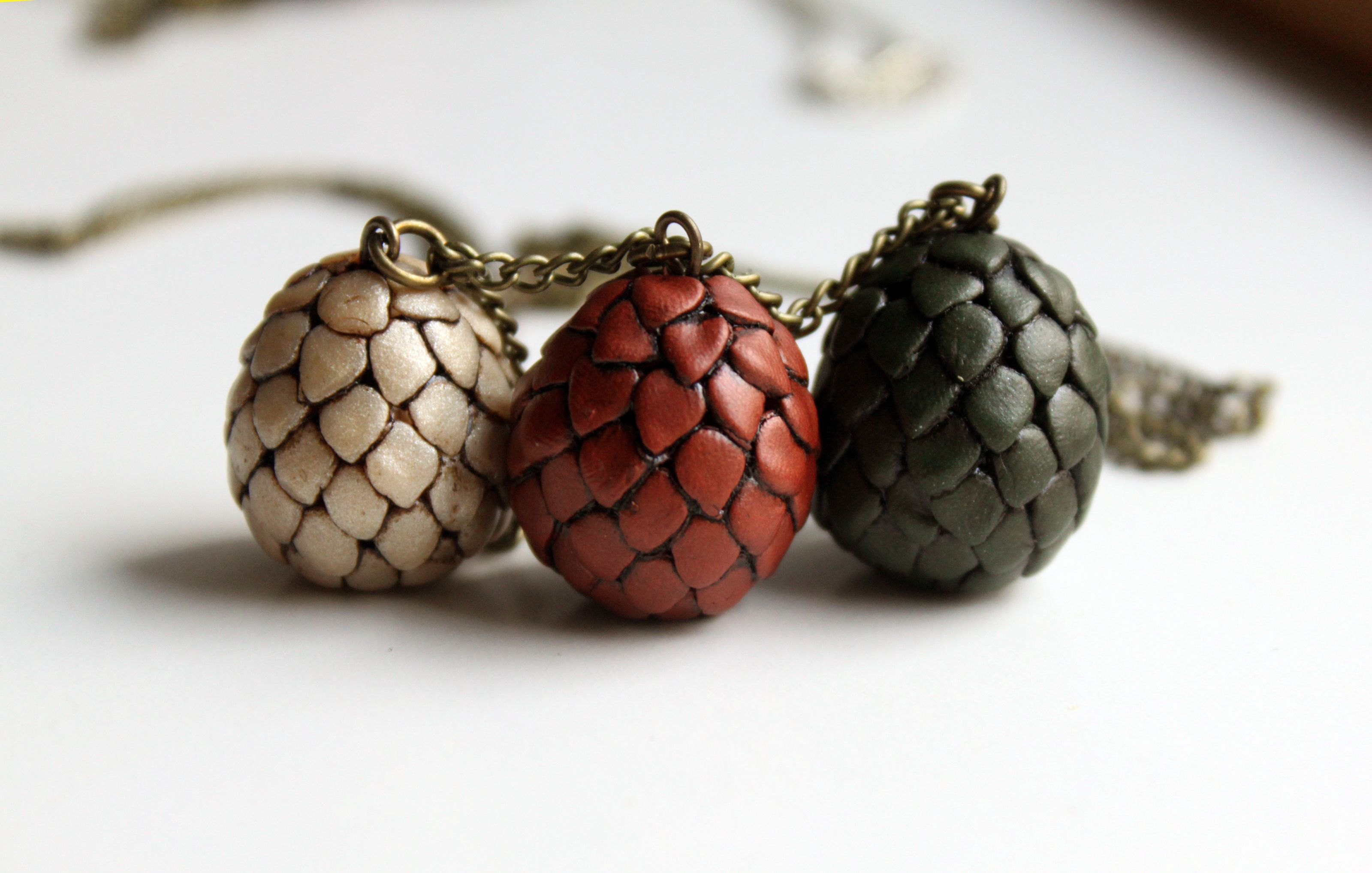 Dragon Eggs Game of Thrones #Necklace by Symbelmyne #Etsy ... - photo#37