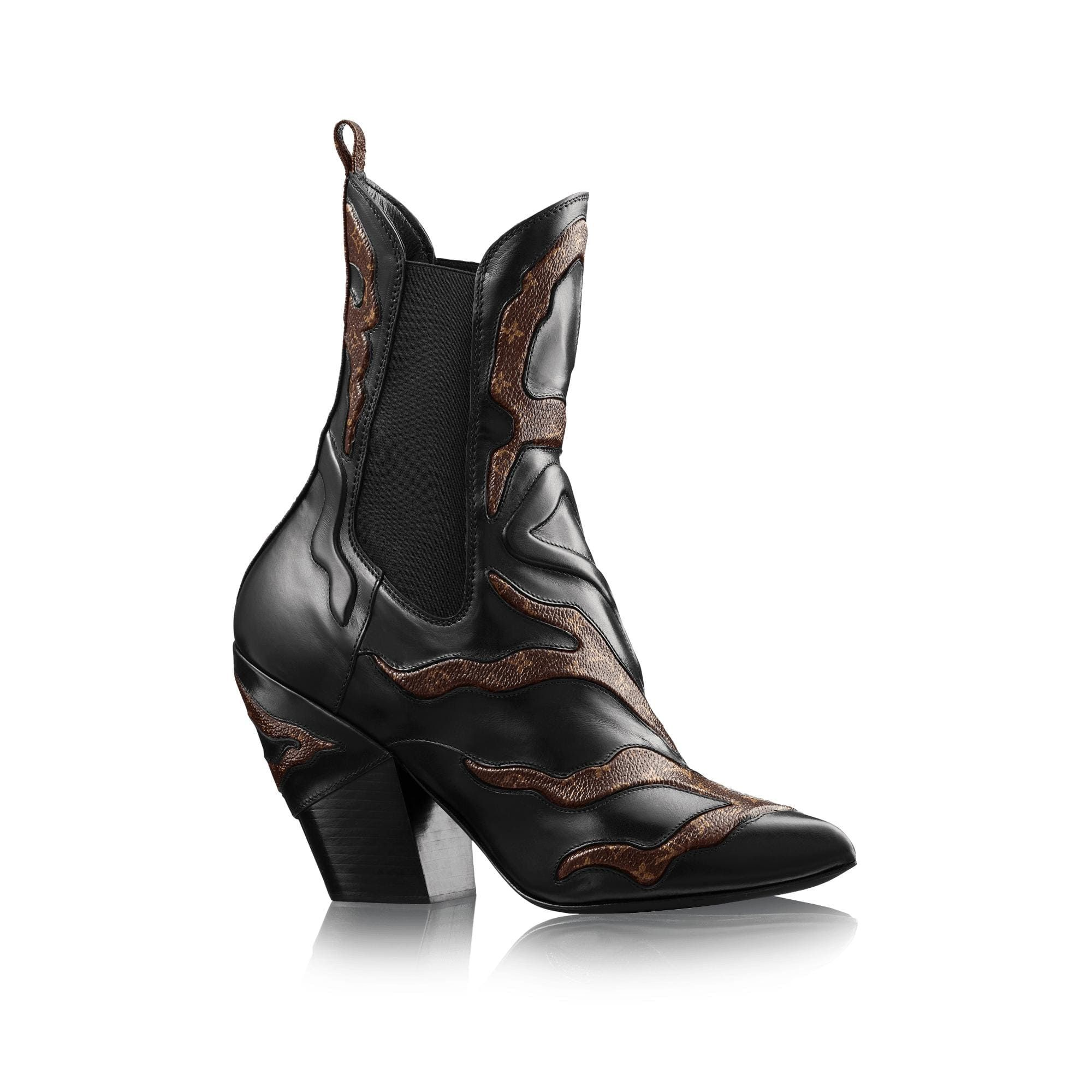 009e25cfe85 Fireball Ankle Boot in 2019 | Design Comm. Project 2- Cowboy Boots ...