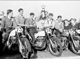 Southern Centre winners. Derek Rickman, Ivor England, Don Rickman, Triss Sharp and Ken Heanes.