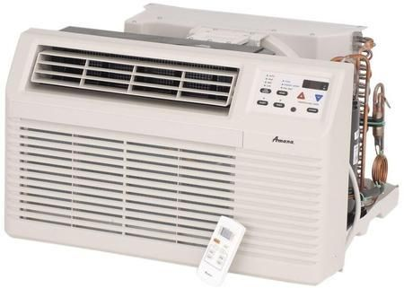 Pbe123g35cb Through The Wall Air Conditioner With 12000 Btu Cooling Capacity 11000 Btu Electric Heating Remote Control Lcd Disp Air Conditioner With Heater Heat Pump Window Air Conditioner