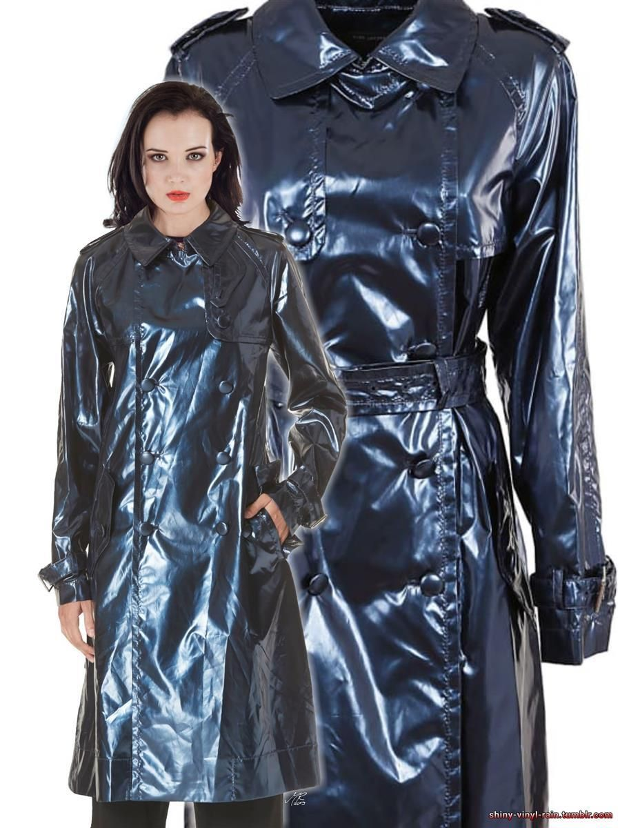 Marc Jacobs Vinyl Trench 2 Rainwear Fashion Rainwear Girl Vinyl Clothing