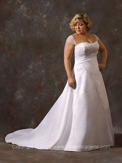 Plus Size Wedding Dress Going To The Chapel And Theyre Gonna Get