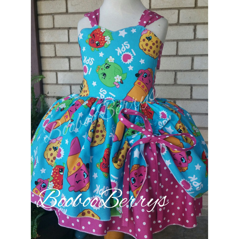 Shopkins dress, shopkins party dress, shopkins birthday, shopkins ...