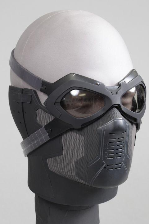 Máscara e óculos Soldado Invernal - Winter Soldier Mask and Glasses ... 3a82bafcaa