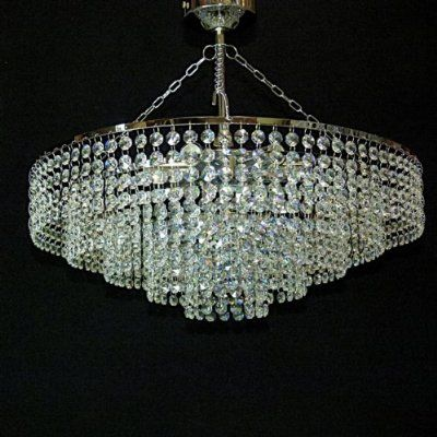 Chandelier Low Ceiling Deco Escultura Arte