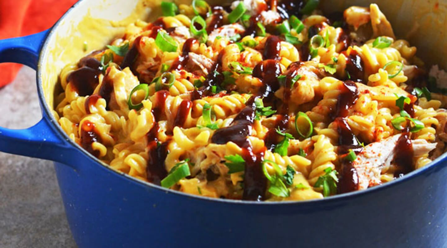barbecue chicken mac and cheese  recipe in 2020  mac