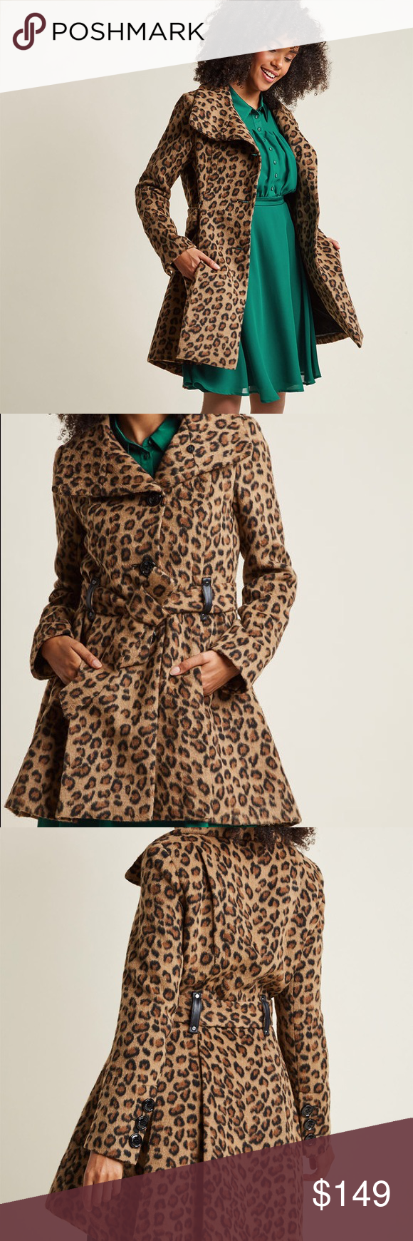 d4b7226805068 Steve Madden Winterberry Tart Wild Coat sz Medium Steve Madden Winterberry  Tart Wild Coat sz Medium