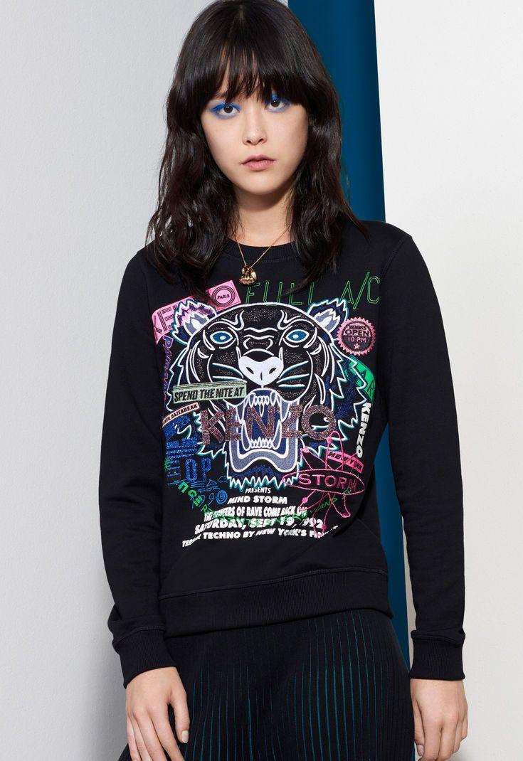 c66e02b33d Flyer x Tiger Sweatshirt for Kenzo | Kenzo.com | kenzo in 2019 ...