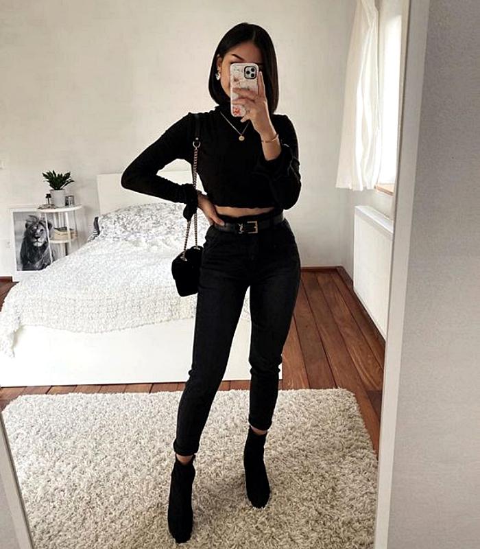 15 Formas de combinar tus jeans negros y verte fantástica – CLOTHES