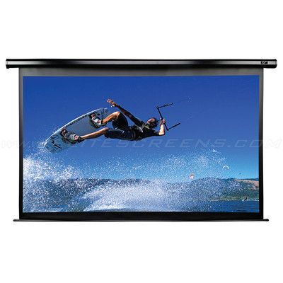 Elite Screens Vmax2 Acousticpro 99 Diagonal Electric Projection Screen Viewing Area 106 Diagonal Electric Screen Projection Screen Ceiling Installation