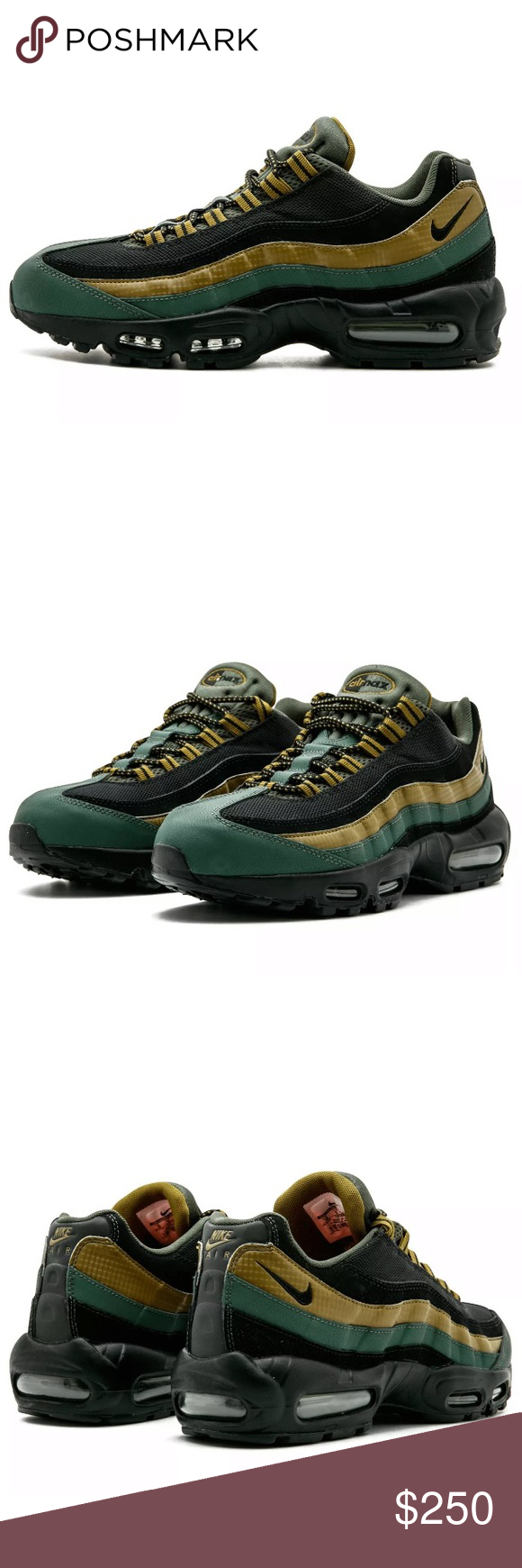 16c44fe9b3 Nike Air Max 95 Essential Size 11 Sneakers Brand New In Box! Dead Stock  Rare! Size: U.S. Men's 11 Color: Carbon Green/Black-Military Camo Green  •Leather and ...