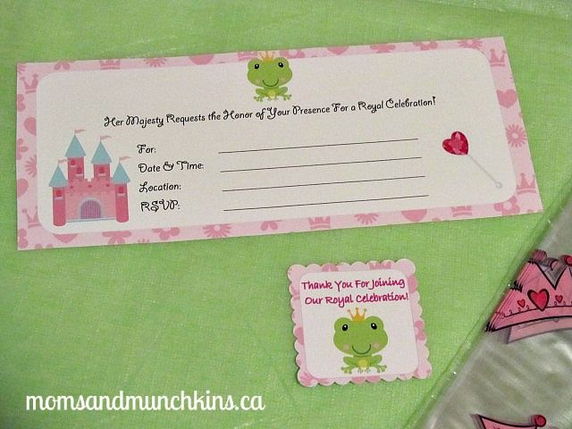 Frog Prince Party Ideas - Moms & Munchkins