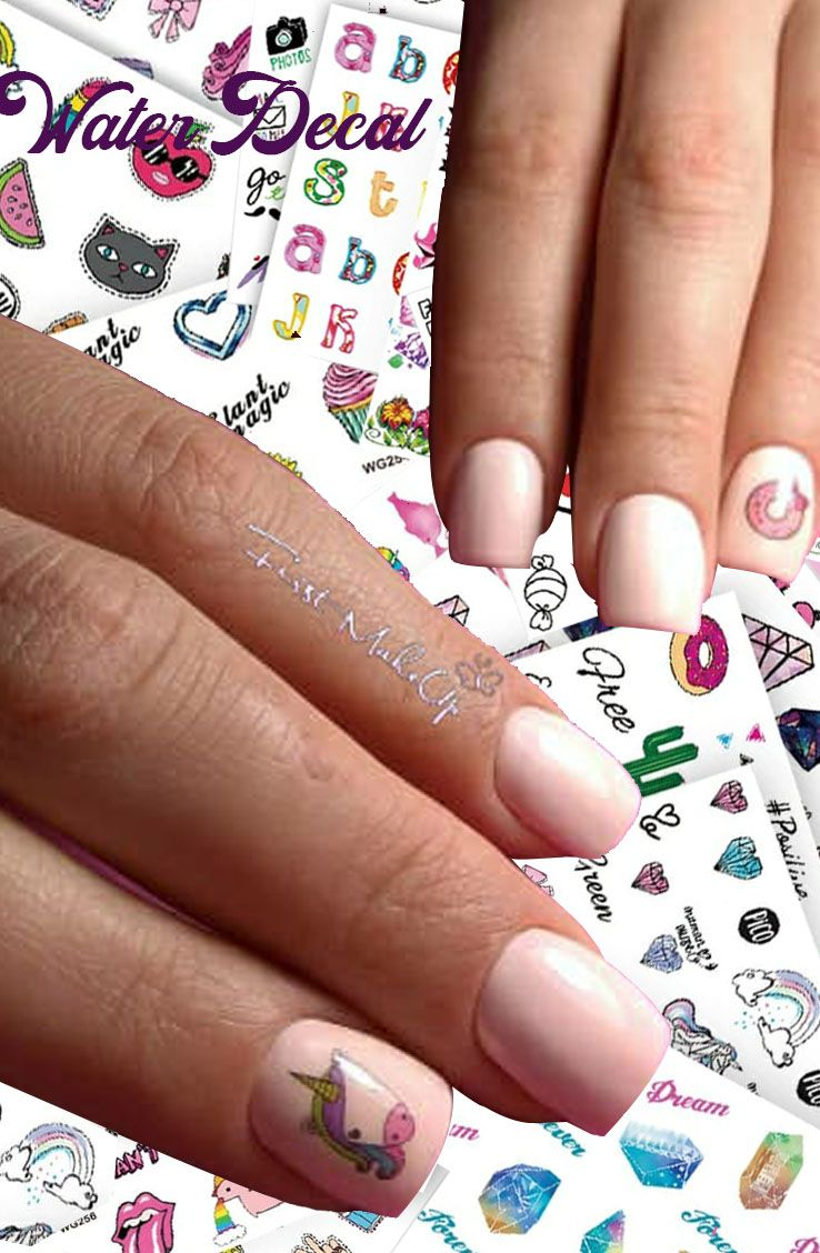 Water Decal | Onglerie | Pinterest | Ongles and Water
