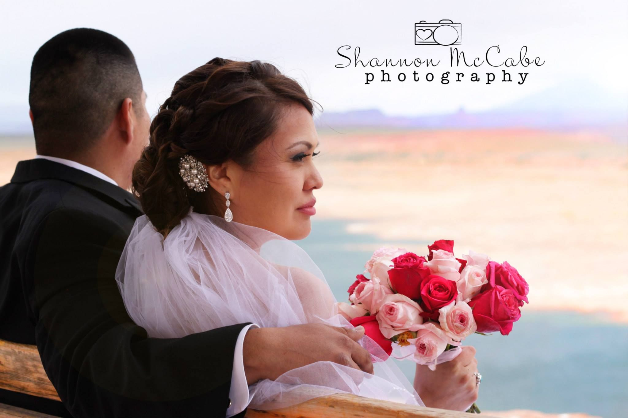 bridal hair and makeup | northern arizona glam squad | lake