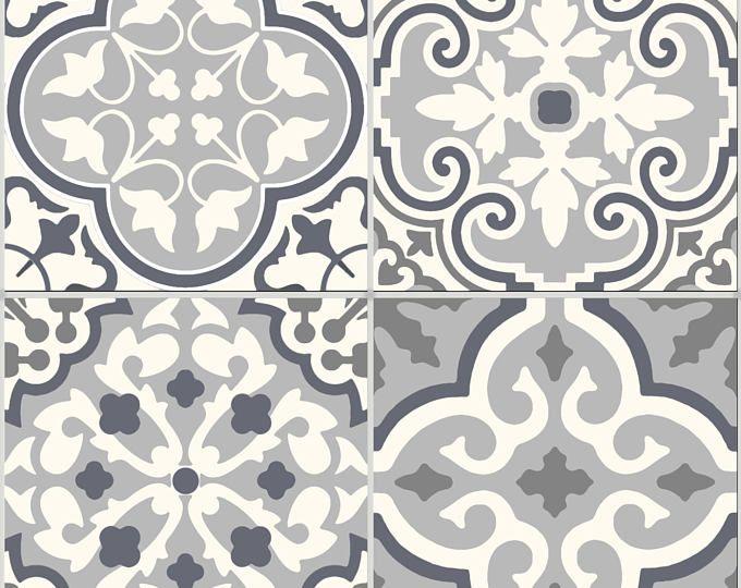 Azulejos adhesivos vinilo etiqueta impermeable extra ble for Vinilo adhesivo suelo bano