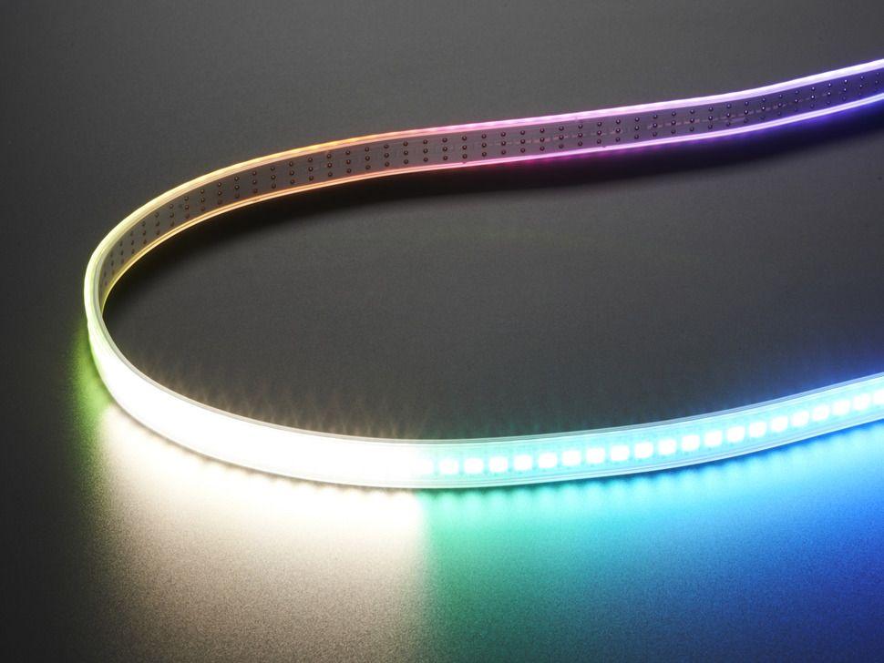 Adafruit NeoPixel Digital RGBW LED Strip - White PCB 144 LED/m - 1m