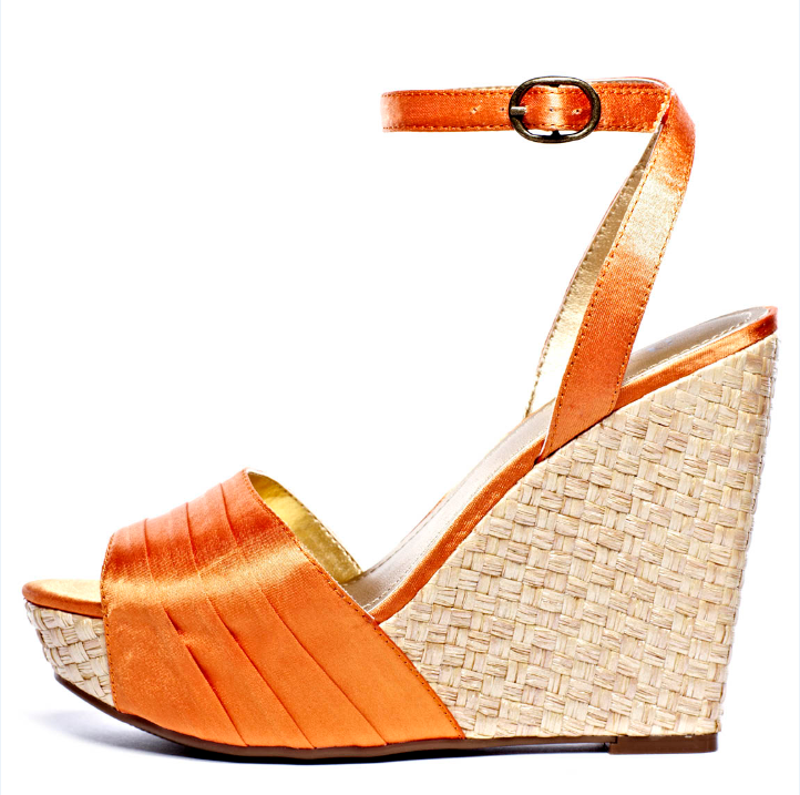 pop of color - a.n.a wedges #ana