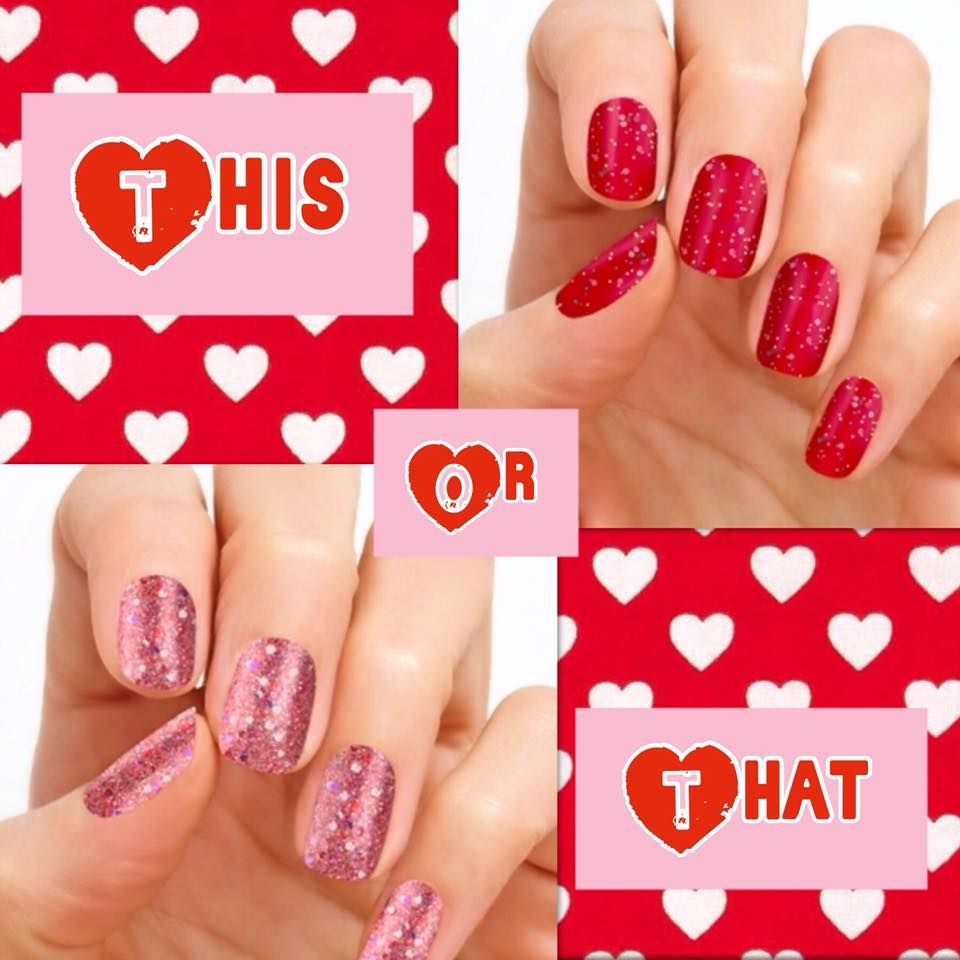 Love Color Street Nail Strips Easy To Use And Easy To Change With Images Color Street Nails Color Street Valentines Nails