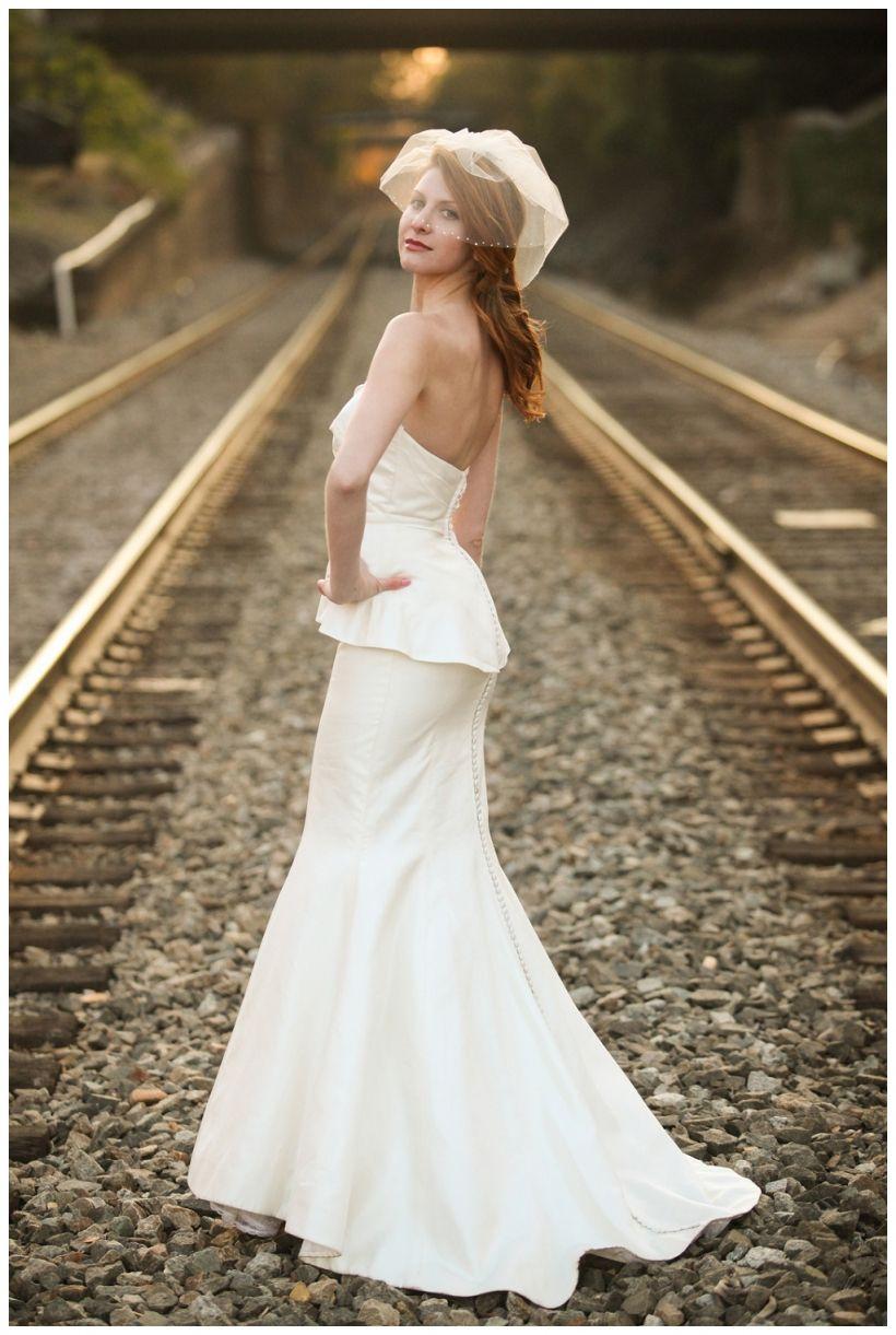 Jenny Tenney Photography Salisbury train station wedding Victoria ...