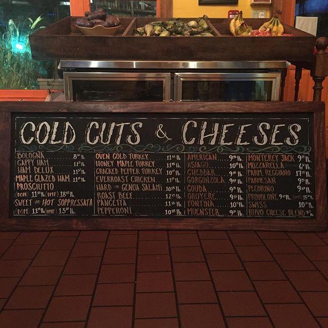 Rustic Chalkboard Restaurant Menu Sign At Ruvo Greenlawn