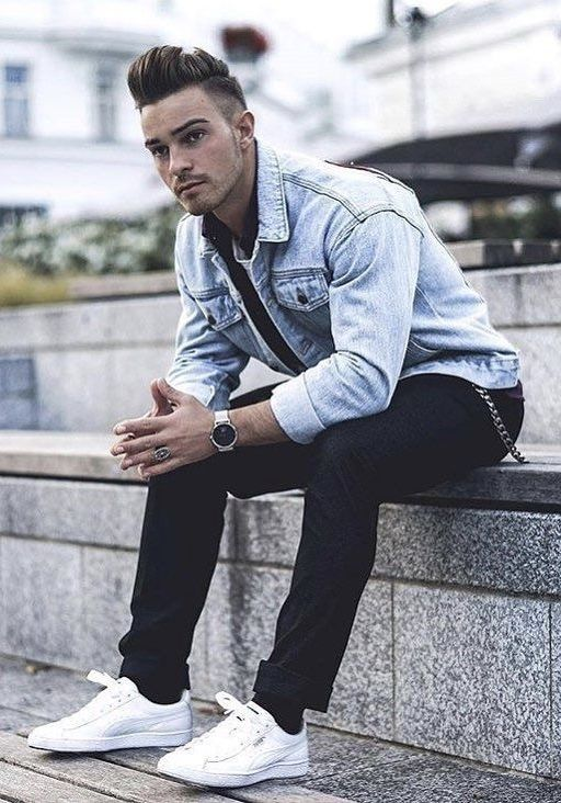 Jackets men fashion, Mens outfits
