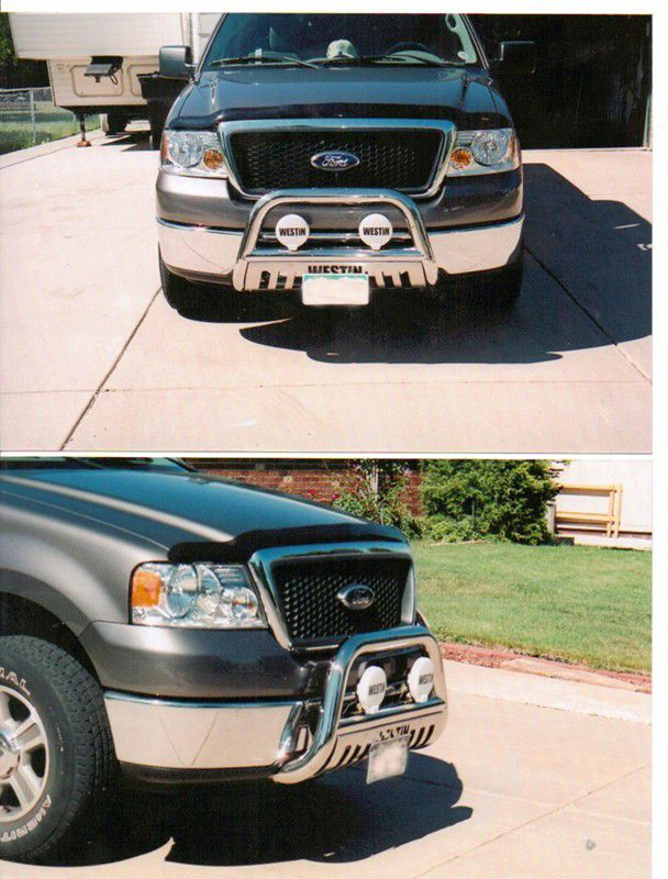 Westin Ultimate Bull Bar With Skid Plate 3 Tubing Black Powder Coated Steel Westin Grille Guard Bull Bar Ford Trucks F150 Bumper Protection
