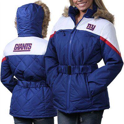 super popular d982c 5fb98 New York Giants Ladies The Looker Full Zip Jacket - Royal ...
