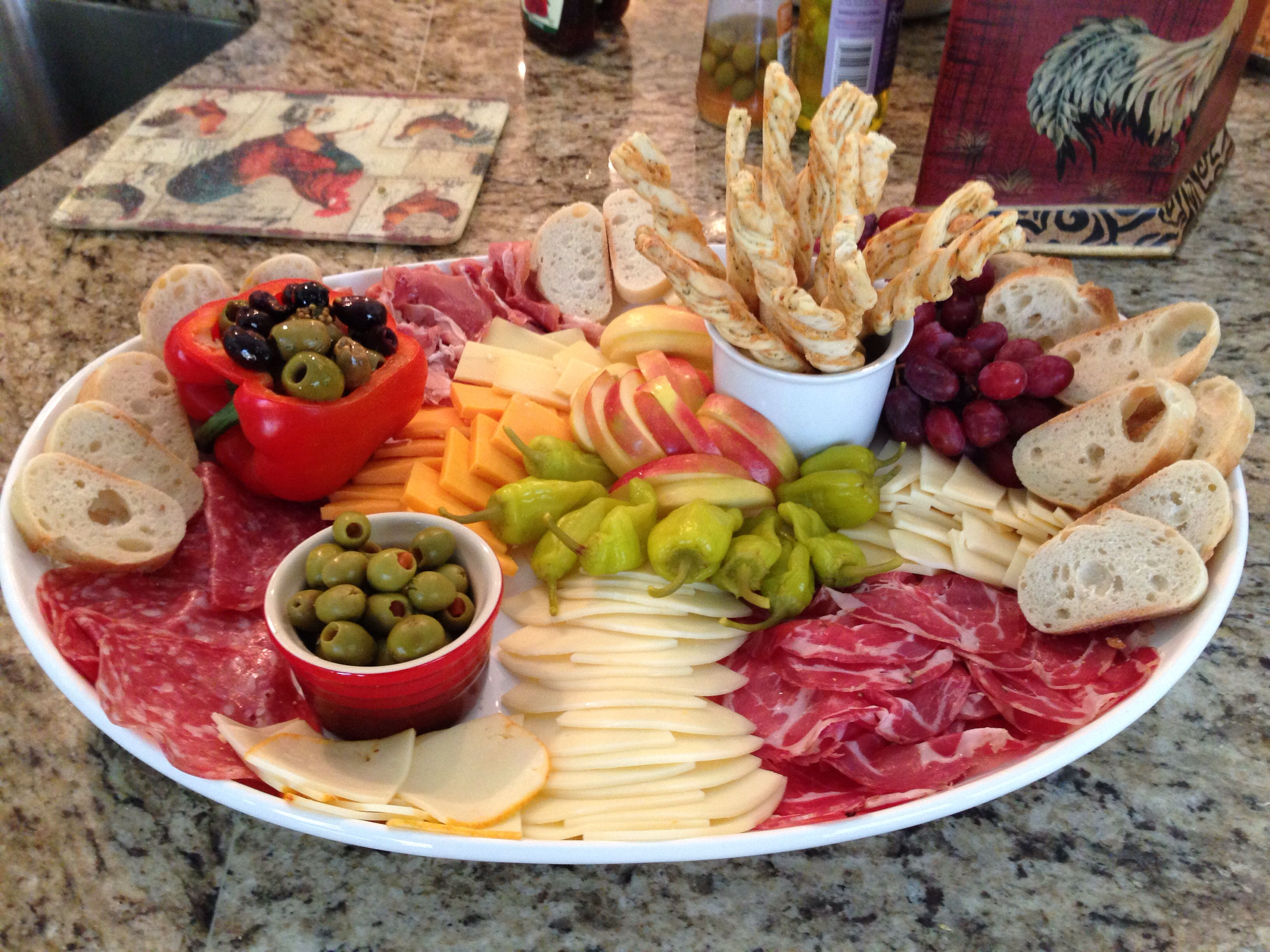 Antipasta platter food pinterest food antipasto and Ina garten appetizer platter