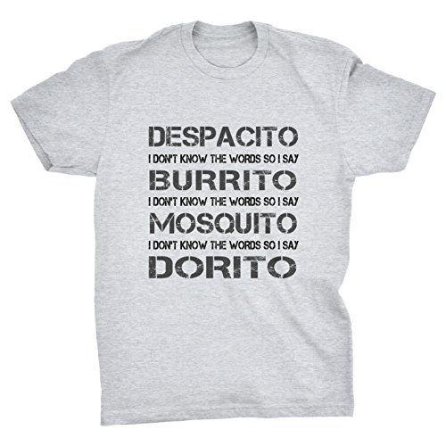 Pixelated Jetstream Despacito Burrito Mosquito Dorito Funny T-Shirt