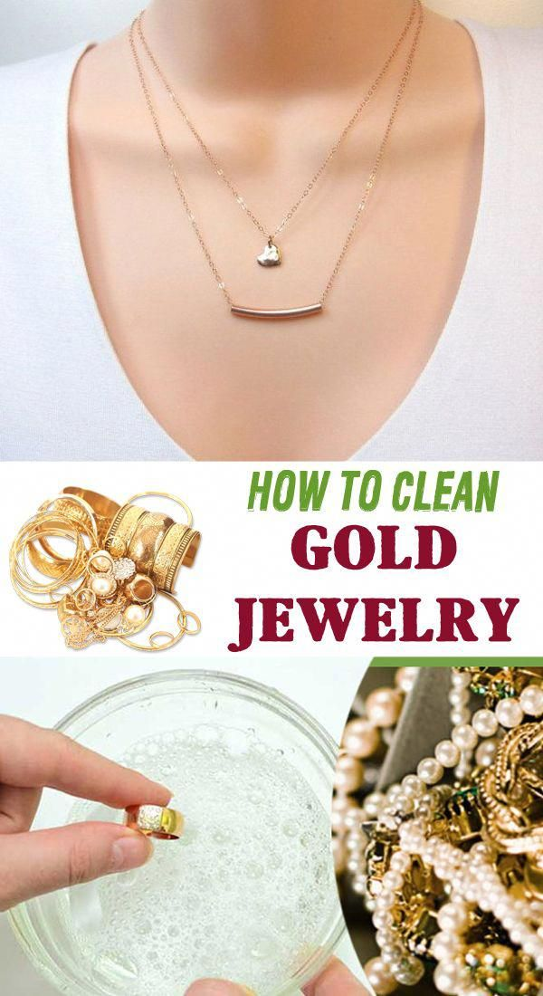 How to clean gold jewelry - House Cleaning Routine == # ...