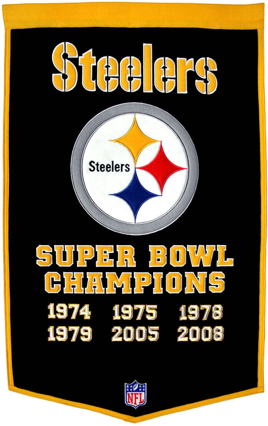 Winning Streak Pittsburgh Dynasty Banner Steelers super