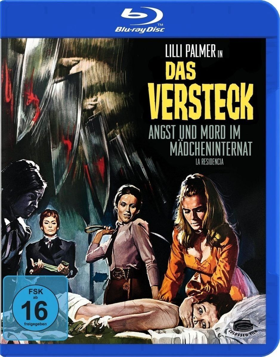 Br the house that scream germany cinema posters