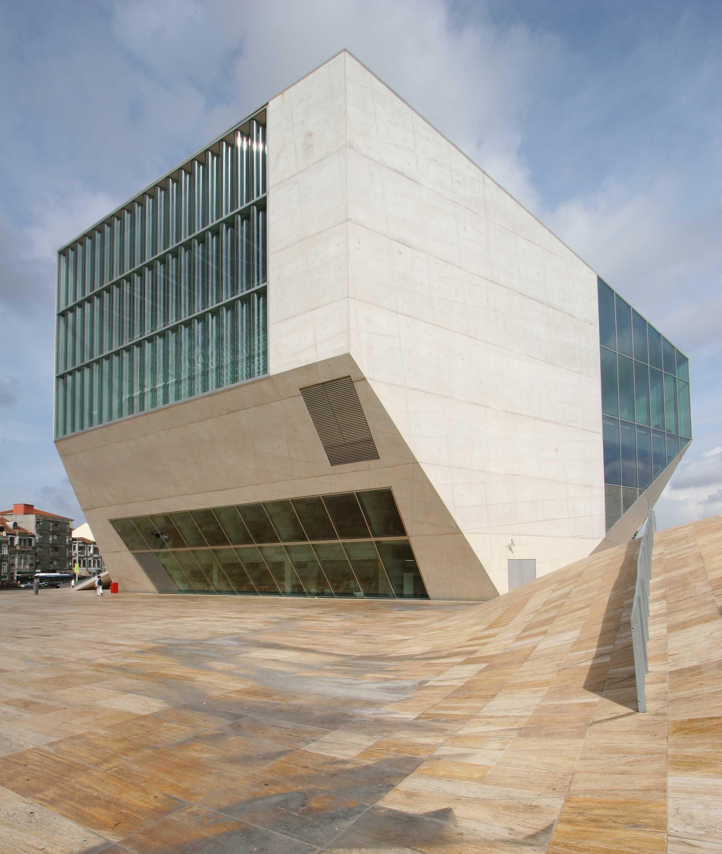 rem koolhaas casa da musica (details) minimal