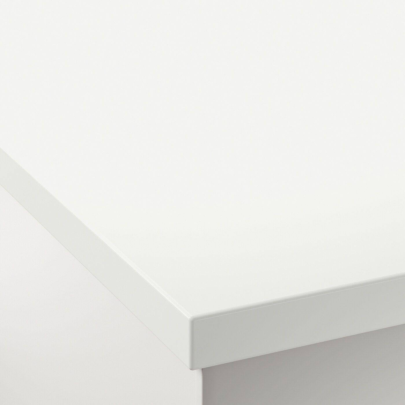 Fornby Massarbeitsplatte Weiss Acryl In 2020 Ikea Laminat Und Einbauspule