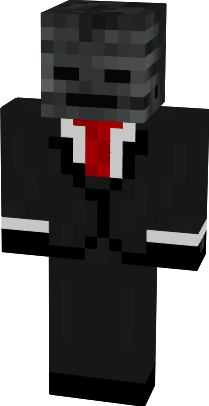 Wither Skeleton In A Suit Minecraft Skins Minecraft Mobs Minecraft