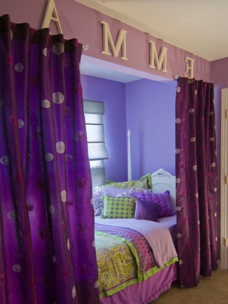83+ Sweet Bedroom Curtain Design Ideas For Your Kids in ... on Teenager:_L_Breseofm= Bedroom Ideas  id=91651
